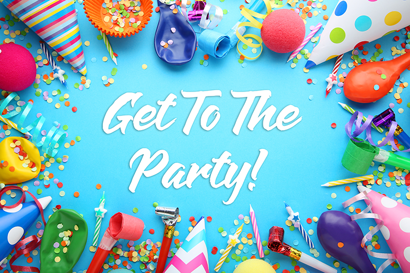 Get To The Party Logo
